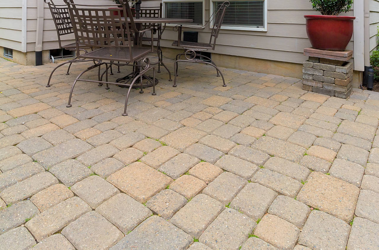 How To Install A Paver Patio In 6 Easy Steps Inch Calculator