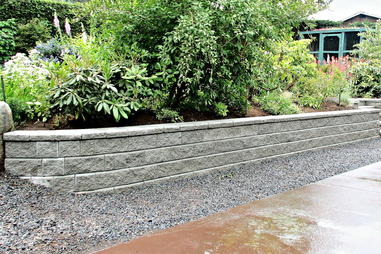 Friendship Retaining Wall and Garden Wall Construction