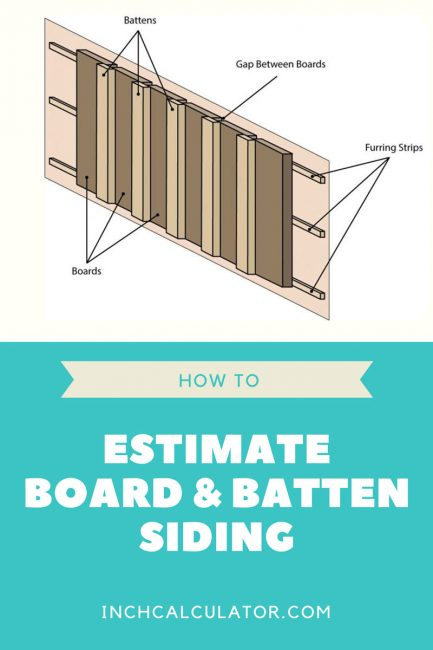 Learn how to estimate board and batten siding materials and how to lay it out evenly.