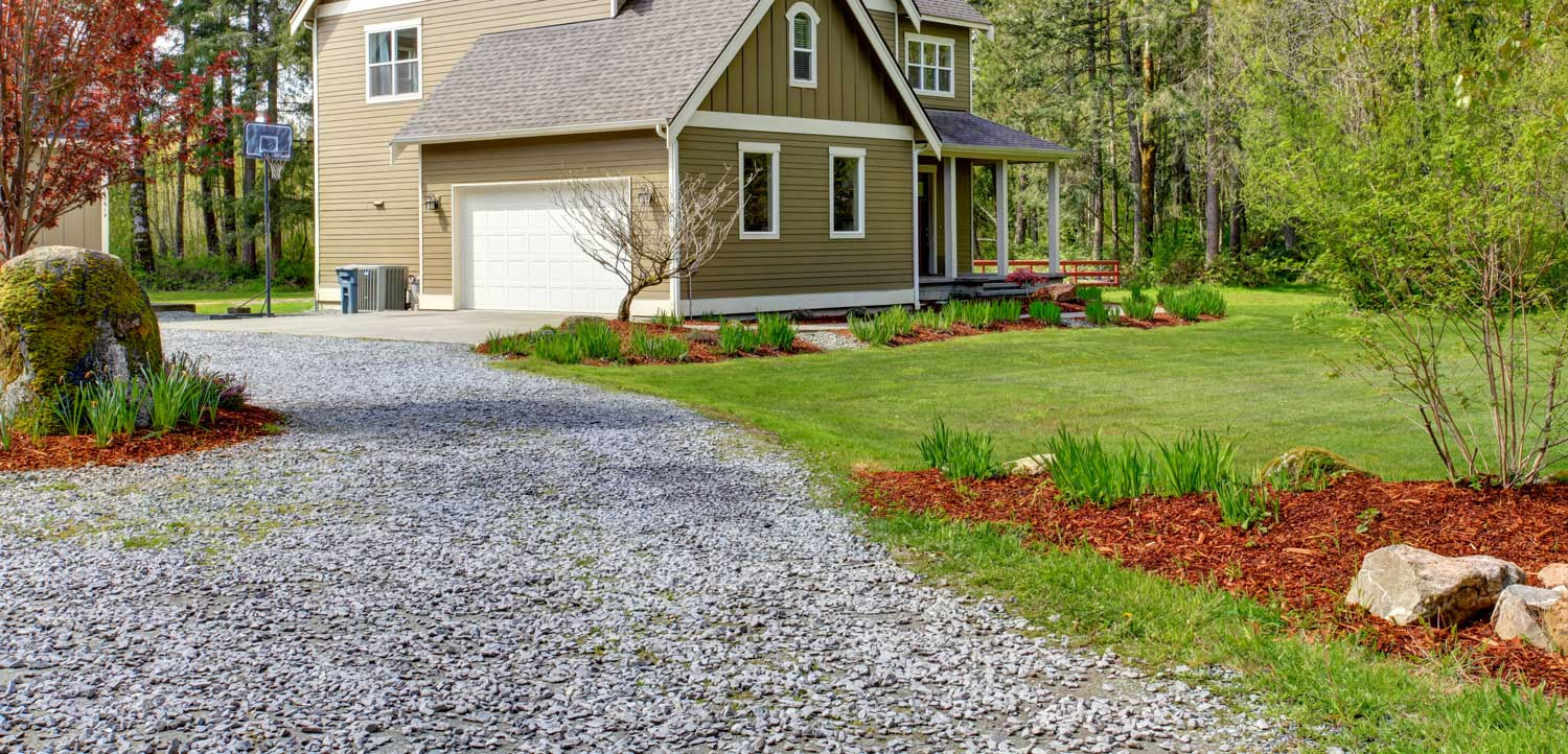 2021 Gravel Driveway Cost Guide Inch Calculator