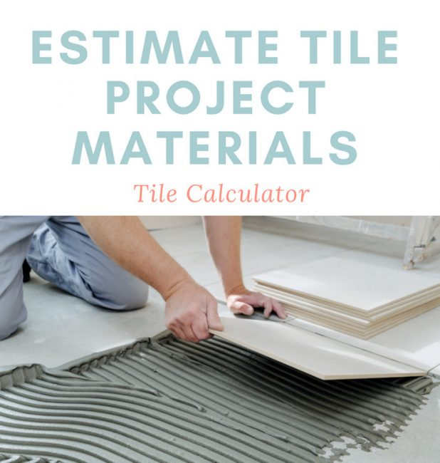 Share tile calculator – estimate much tile you need