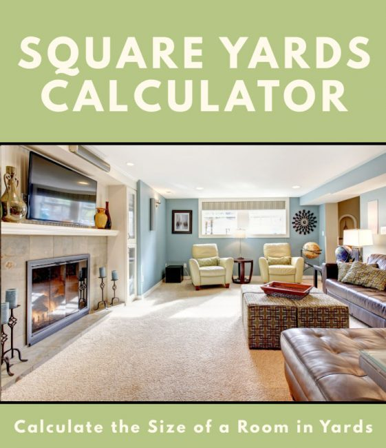 Share square yards calculator