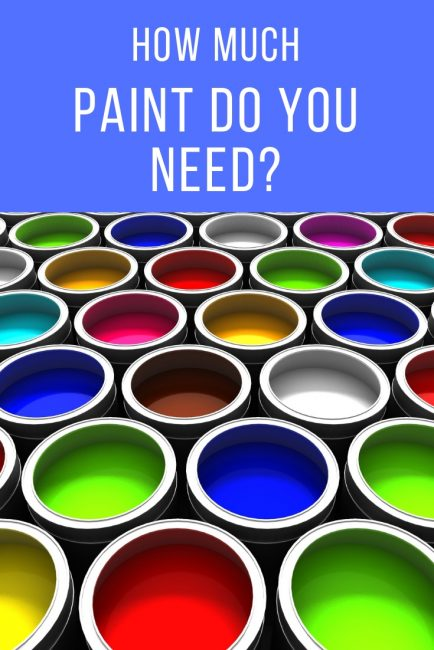 Estimate how many gallons of paint and primer you need to paint a room.