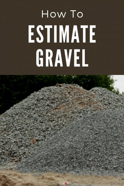 Calculate gravel and other landscape material in cubic yards or tons using a gravel calculator