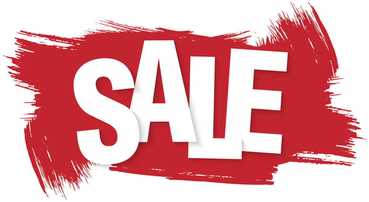 graphic advertising a sale or promotion