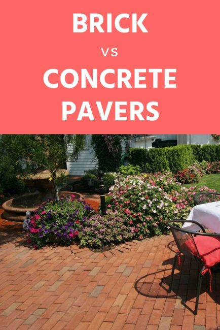 Tips for choosing brick or concrete pavers for your new patio project