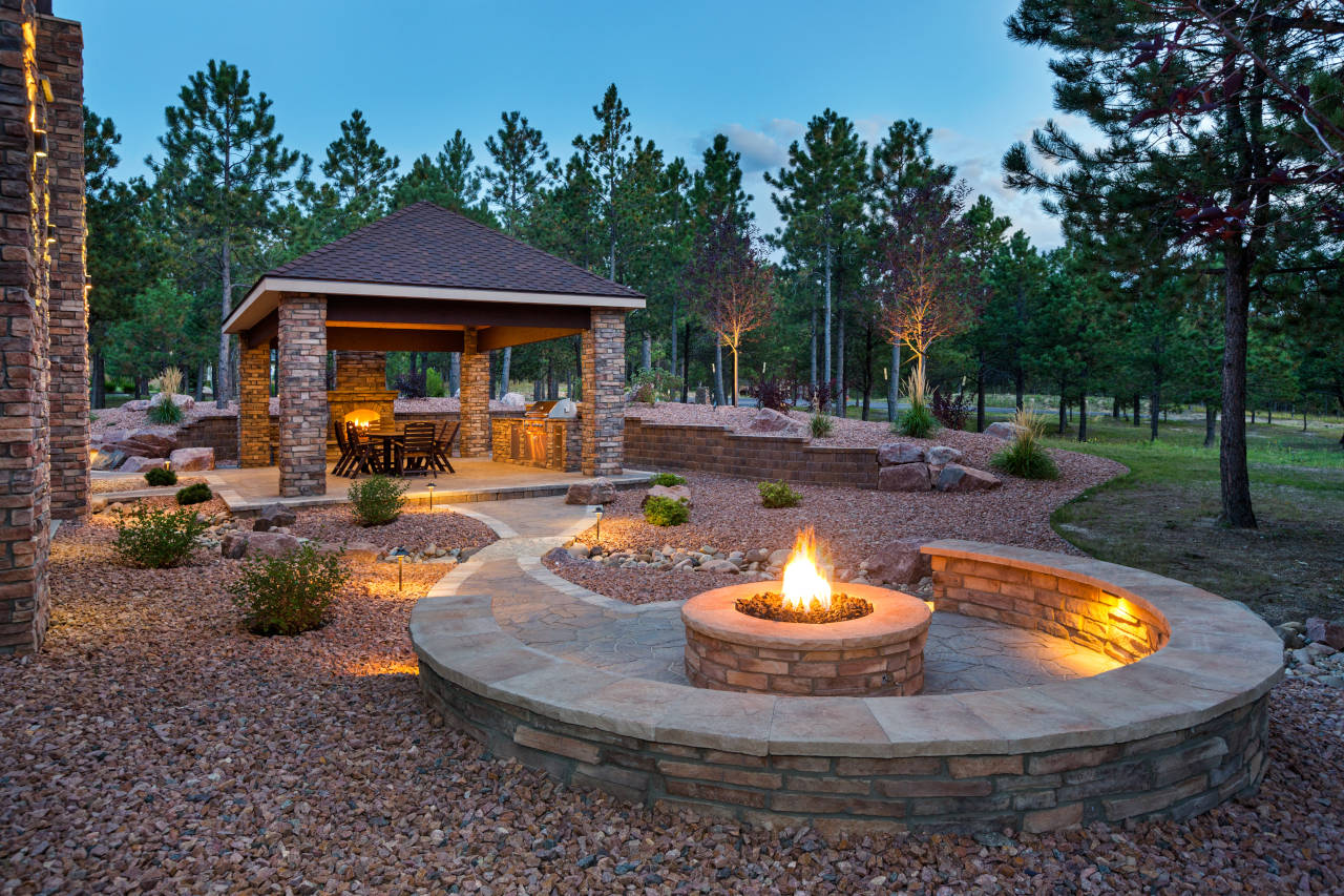 Cost To Install Backyard Fire Pit 2021 Prices Inch Calculator