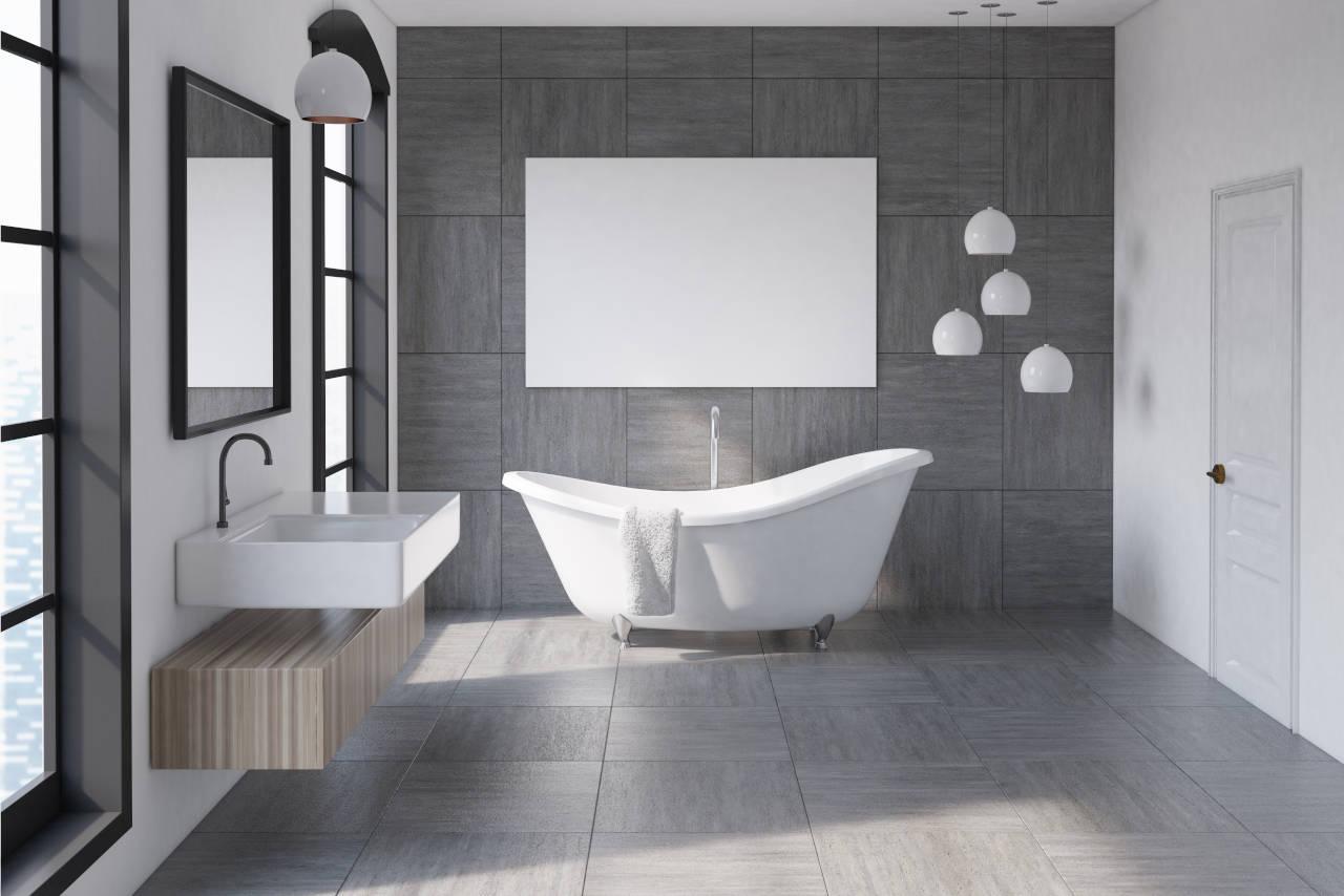 Cost to Install Bathroom Tile Floor   9 Cost Estimator   Inch ...
