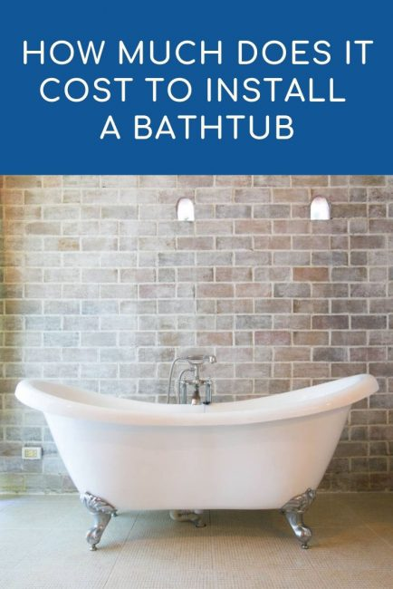 Share cost to install a bathtub – 2021 cost calculator and price guide
