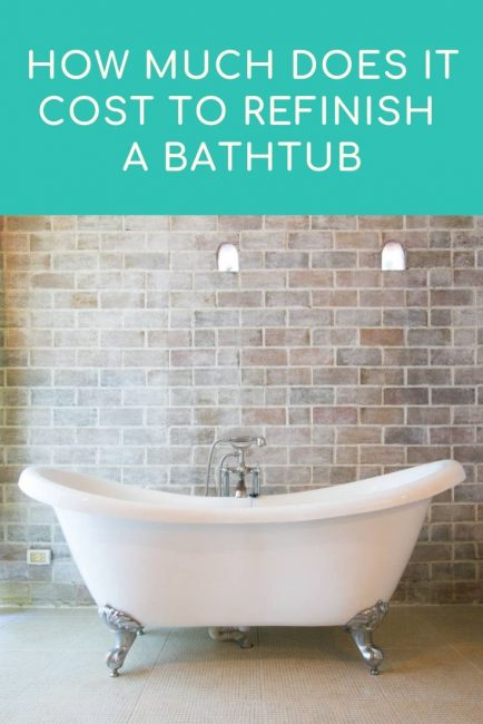 Share cost to refinish a bathtub – 2021 average prices