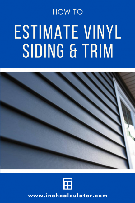 Learn how to estimate vinyl siding material and trim pieces needed for your siding installation project.