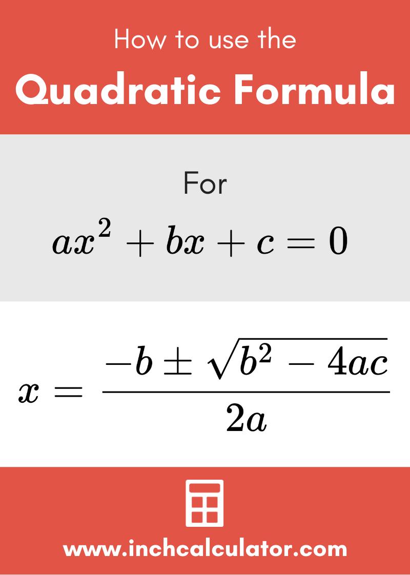 Share quadratic formula calculator – with steps to solve