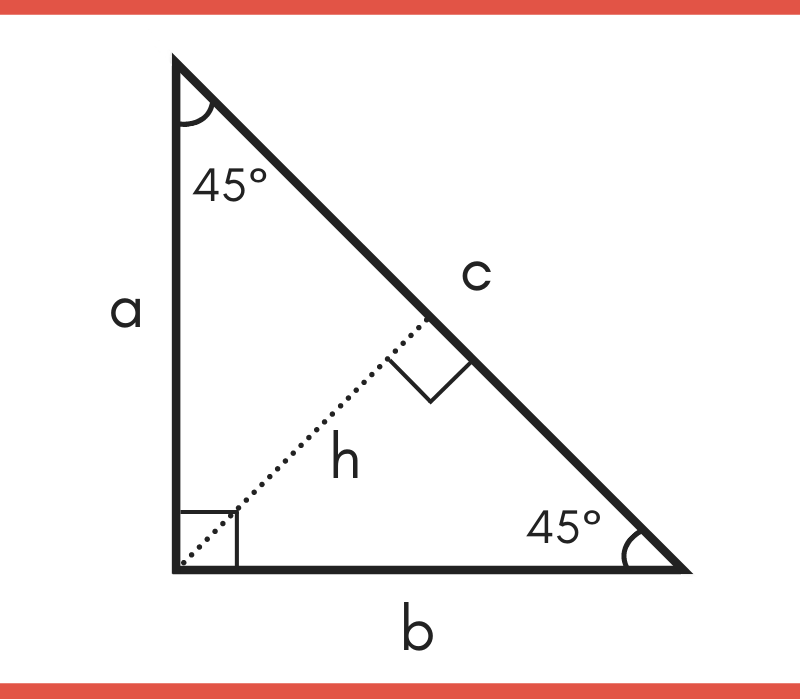 45 45 90 Special Right Triangle Calculator Inch Calculator