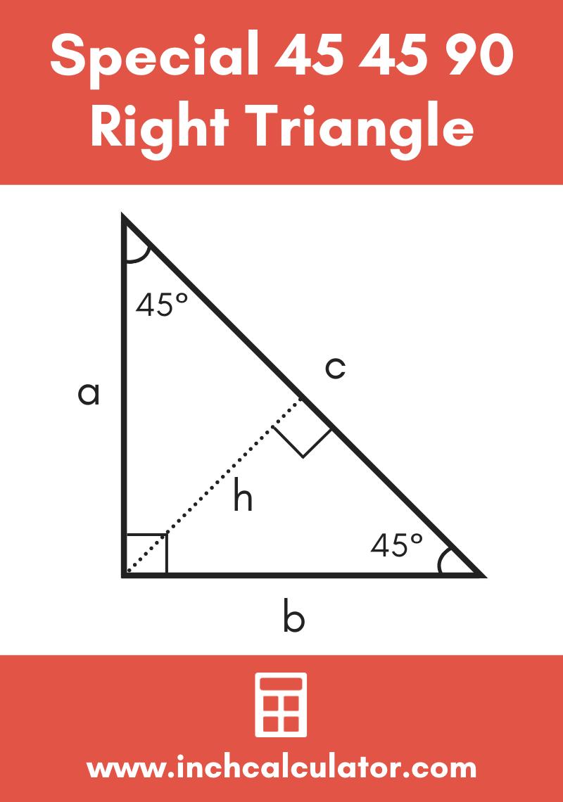 Share 45 45 90 special right triangle calculator
