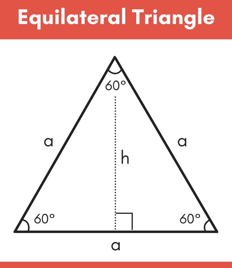 diagram showing the parts of an equilateral triangle