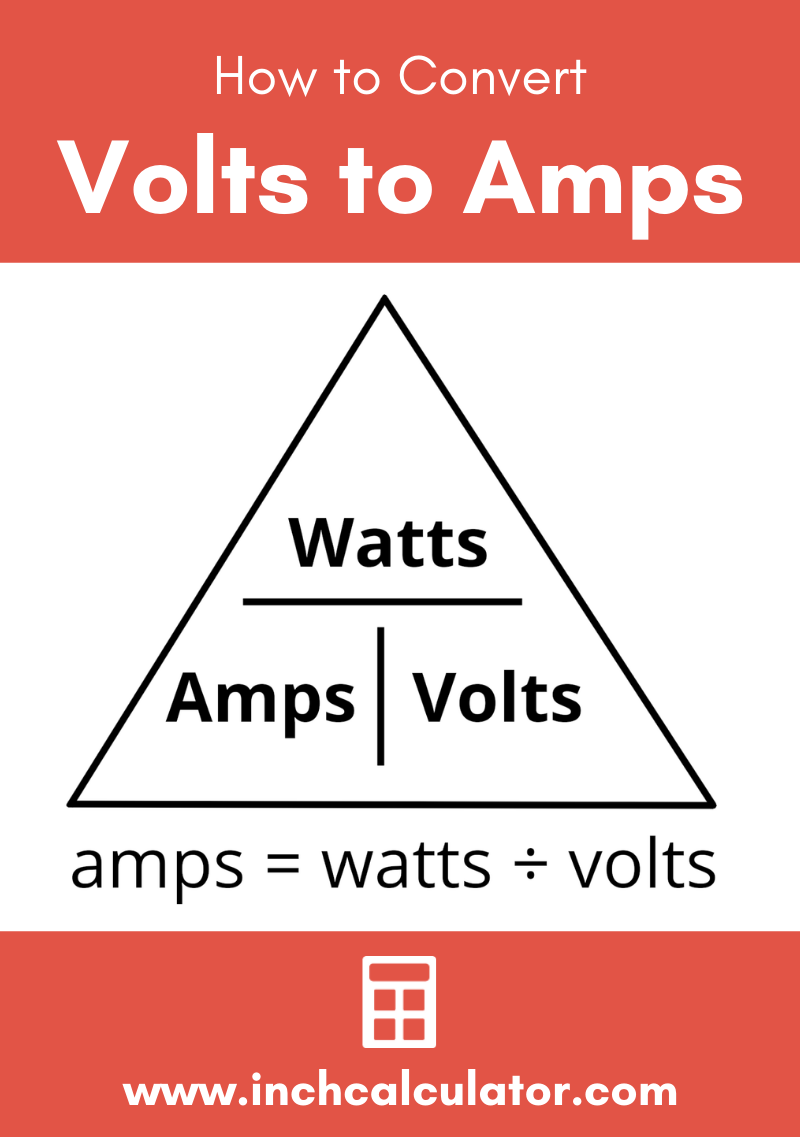 Share volts to amps electrical conversion calculator