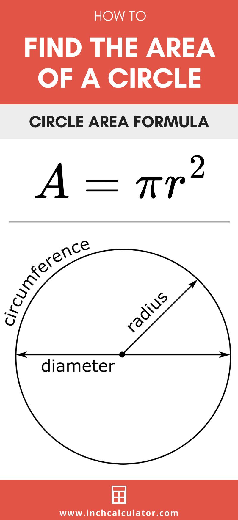 Share area of a circle calculator