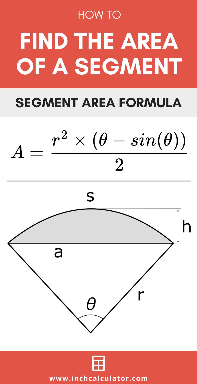 Share segment area calculator